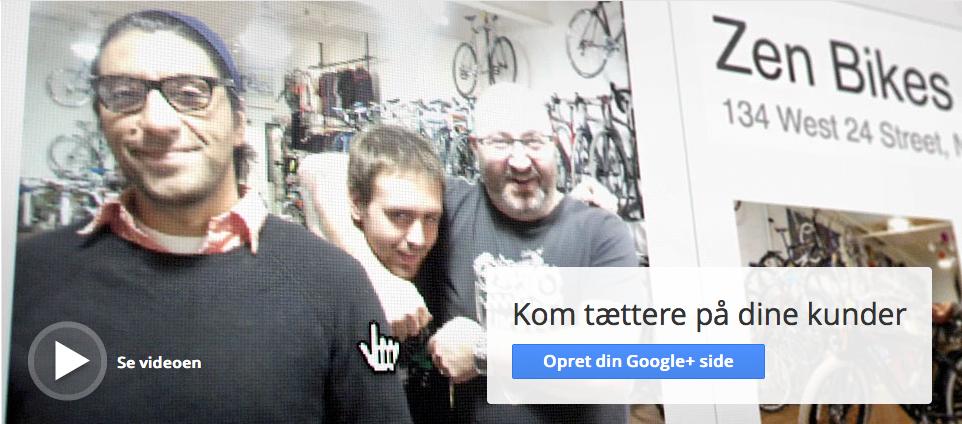 Google+ side