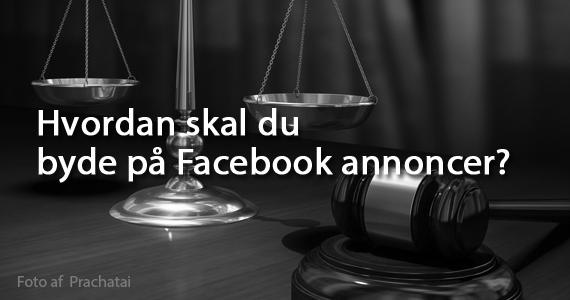 byde på Facebook annoncer